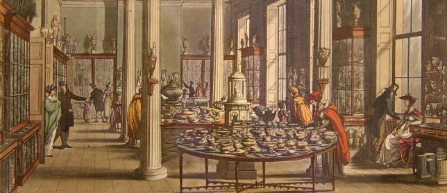 Wedgwoods shop 1809